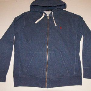 Polo Ralph Lauren Full Zip Hoodie Jacket Large